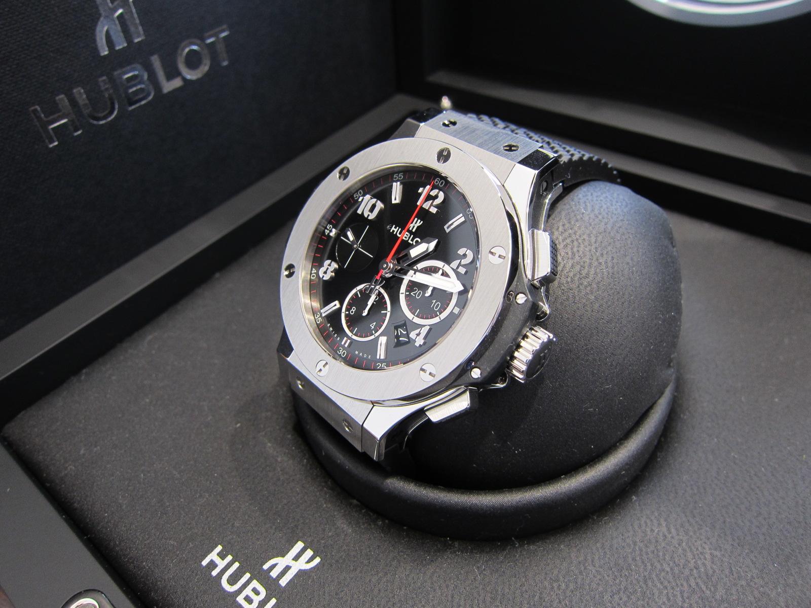 separation shoes 20ae8 b0d7e ウブロ HUBLOT ビッグバン クロノグラフ 腕時計 高価買取致し ...