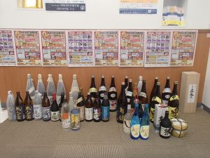 焼酎・ブランデーを大量買取!お酒の買取は姶良市・買取専門店大吉タイヨー西加治木店が強い!