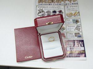 ブランド カルティエ(Cartier)のリングをお買取!霧島市の買取専門店大吉霧島国分店です!