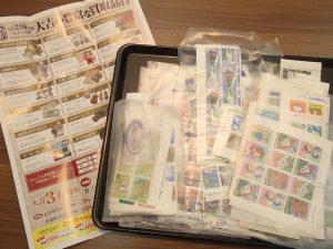 本日もしっかり切手買取!額面にして10万超え!お客様の買取依頼されたい商品に的確にお応え出来るのが姶良市・買取専門店大吉タイヨー西加治木店です。