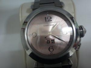 大吉調布店で買取したカルティエの時計