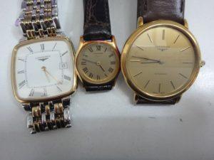 大吉調布店で買取したロンジンの時計