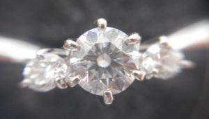 0.30ctのダイヤモンドリングをお買い取りいたしました。