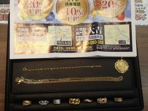 「今日の金はいくらなの~?」しっかりご期待にお応えが姶良市・買取専門店大吉タイヨー西加治木店でございます。本日も「へ~!やるじゃない!」頂きましたよ!