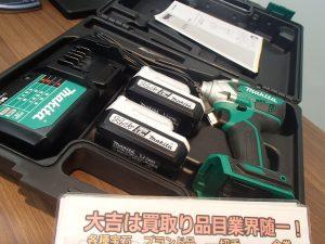 電動工具も高額査定!makita(マキタ)のインパクトドライバーをお買取!姶良市・買取専門店大吉タイヨー西加治木店です!