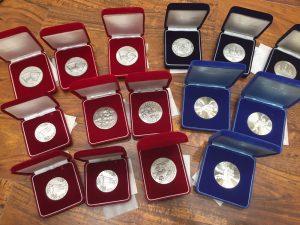 「大吉新宿本店」銀メダルを高価買取りしています!