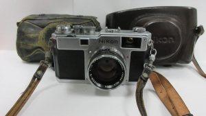 Nippon kogaku 5cm アンティークカメラ