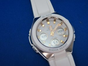 CASIO Baby-Gのソーラー時計をお買取りさせて頂きました。