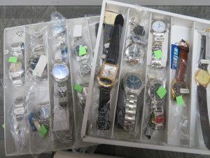 沢山の腕時計をお買取りさせて頂きました。