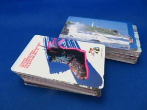 本日もテレホンカードを大量にお持ち頂きました。