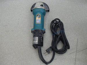 マキタの電動工具 ディスクグラインダをお買取いたしました。霧島市の買取専門店大吉霧島国分店です。