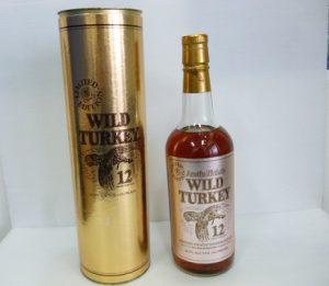 ウイスキー・ワイルドターキーのお買取りをさせて頂きました。買取専門店大吉ゆめタウン中津店です。