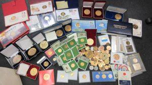 記念メダル大量