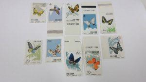 中国切手 蝶シリーズ
