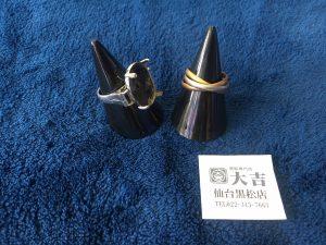 ✨18K・K18/Pt900コンビ リング 買取致しました✨ 買取専門店 大吉 仙台黒松店