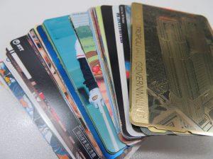 沢山のテレホンカードをお持ち頂きました。
