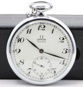 オメガ 手巻き 懐中時計