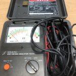共立 高圧絶縁抵抗測定器 MODEL 3123
