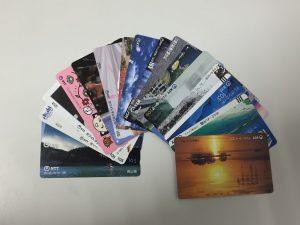 岩国市のお客様よりテレホンカードをお譲り頂きました!