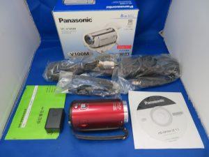 本日はPanasonicのデジタルビデオカメラをお買取りさせて頂きました。