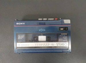 SONYポータブルカセットレコーダー