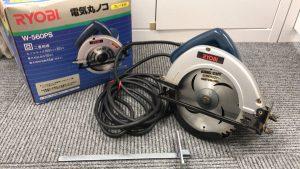 リョービ電子丸ノコ電動工具