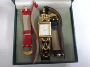 大吉調布店で買取したグッチの時計