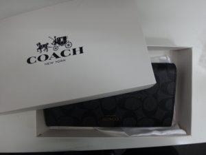 大吉調布店で買取したCOACH(コーチ)の財布
