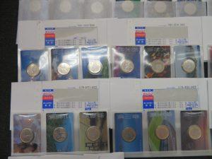 本日は地方自治法改正の500円硬貨をお買取りさせて頂きました。