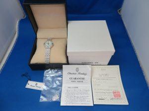 本日はレディースの時計をお買取りさせて頂きました。