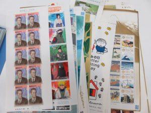 沢山の切手シートのお買取りさせて頂きました。
