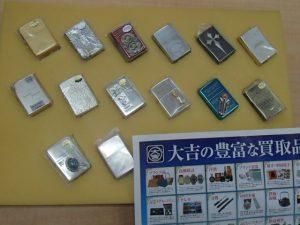 大切なコレクション、ライター ZIPPO を手放すなら霧島市の買取専門店大吉霧島国分店におまかせください!