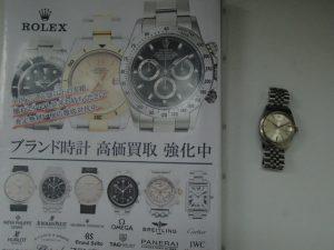 ROLEX(ロレックス)のデイトジャストをお買取!霧島市の買取専門店大吉霧島国分店です。