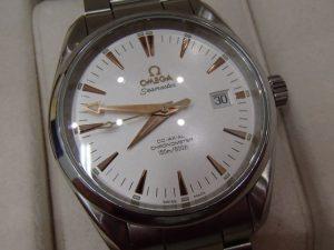 腕時計 OMEGA シーマスターアクアテラをお買取り!大吉ゆめタウン八代店