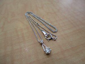 ダイヤモンドネックレスをお買取りいたしました!大吉松江店