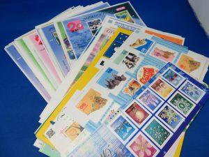 本日は切手シートをお買取りさせて頂きました。