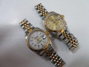 ロレックス デイトジャスト 腕時計をお買取りさせて頂きました。