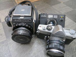 アンティークなフイルムカメラをお買取りさせて頂きました。