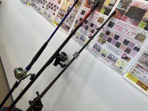 釣竿買取!引退品は釣竿に限らず!姶良市・買取専門店大吉タイヨー西加治木店。査定説明はお客様ファーストで行います。