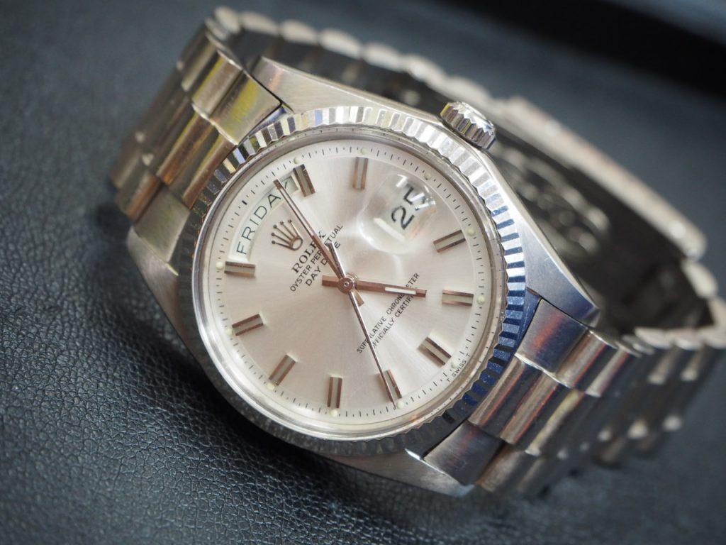 ロレックス ROLEX デイデイト 1803 ホワイトゴールド 時計 ブランド 買取 浜松市