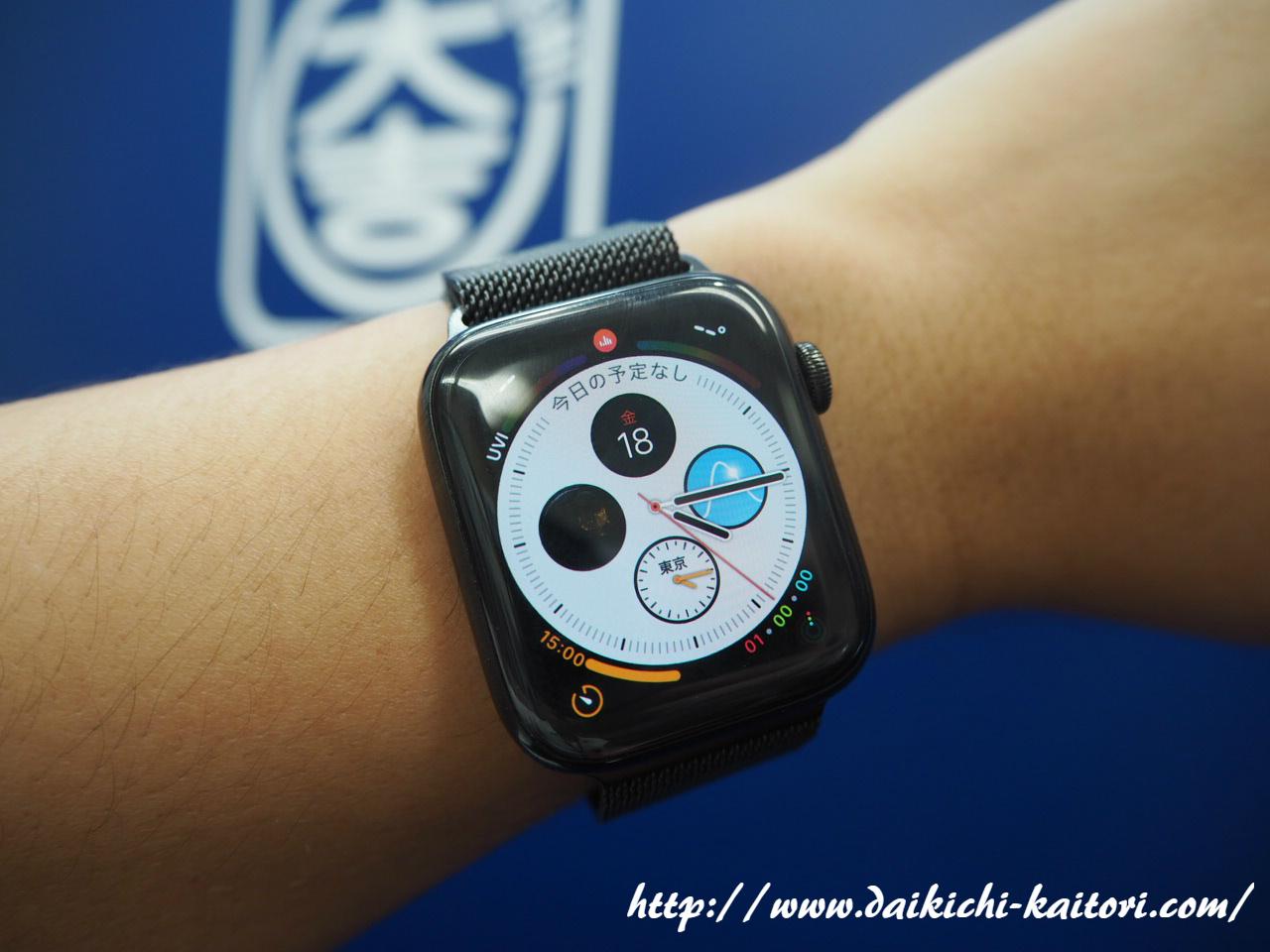 浜松市 買取 アップルウォッチ Apple Watch Series 4 MTX32J/A 時計 スマートウォッチ