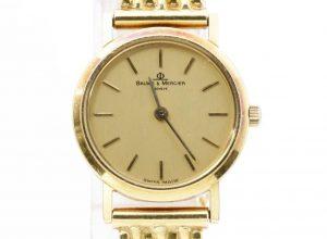 ボーム&メルシエ K18 腕時計