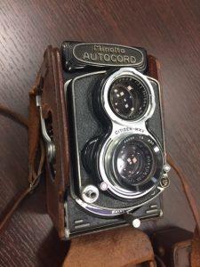 2眼レフカメラ Minolta AUTOCORD
