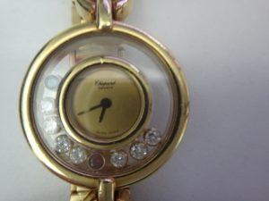 大吉調布店で買取りしたショパールの時計