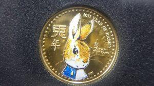 ピーターラビット金貨をお買取りです(*^^)v🐰✧買取専門店 大吉 仙台黒松店✧