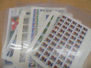 記念切手シート・テレホンカードをお買取りさせて頂きました。