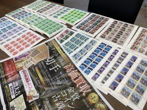 記念切手シート買取!コレクション品!切手も切手以外も姶良市・買取専門店大吉タイヨー西加治木店!