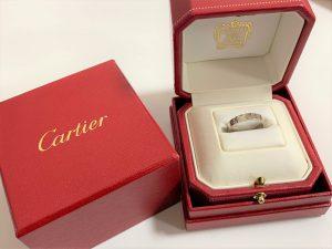 Cartier カルティエ リング ラブリング 金 ブランド品 買取 売る 広島 大吉 アルパーク