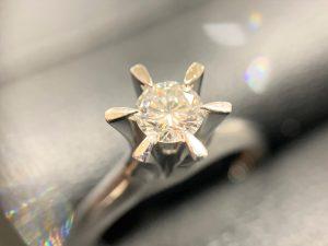 ダイヤモンド ダイヤ プラチナ リング 買取 売る 広島 アルパーク