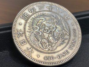 一圓銀貨 銀貨 貿易銀 銀 古銭 買取 売る 広島 アルパーク広島店